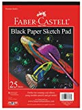 drawing paper for pastels - Faber-Castell Black Paper Pad 9