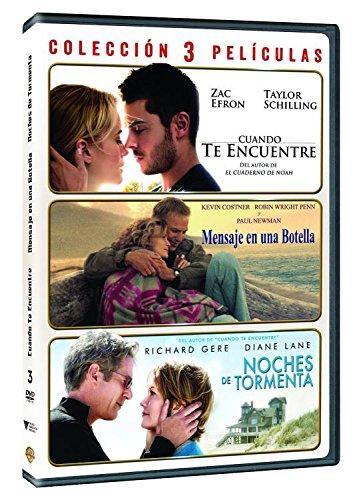 Pack: Cuando Te Encuentre + Noches De Tormenta + Mensaje En Una Botella DVD: Amazon.es: Varios, Varios, Varios, Varios: Cine y Series TV