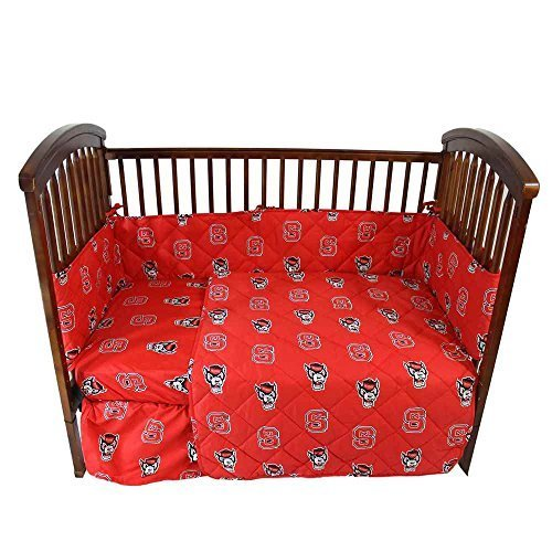 College Covers North Carolina State Wolfpack 5 piece Baby Crib Set by College Covers - North Carolina State Crib