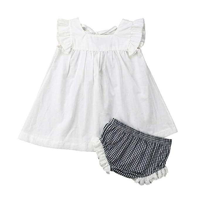 cfd5b6d8be100 Newborn Baby Girls 2019 Summer Clothes Outfits Cuekondy Cute ...