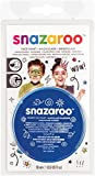 Snazaroo 1119344 Face Paint 18ml Royal Blue Clam Pack Color