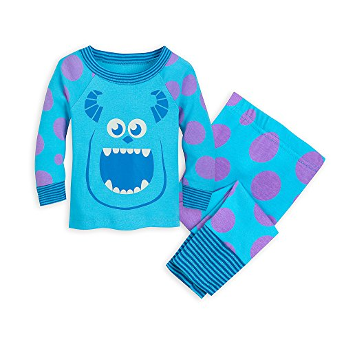 Disney Sulley Pajama Set for Baby - Monsters, Inc Size 6-9 MO Multi (Monsters Inc Crib Set Babies R Us)