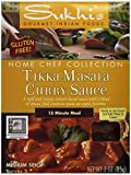 Sukhi's Gluten-Free Tikka Masala Sauce, 3-Ounce Packets (Pack of 6)
