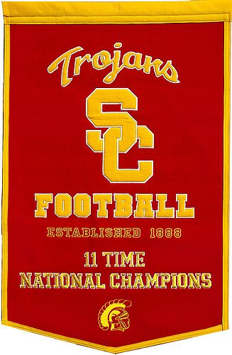 USC Trojans Dynasty Banner - NCAA Licensed - USC Trojans Collectibles