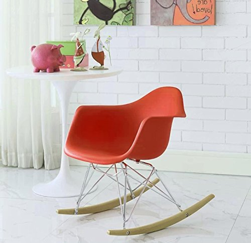 Huge Comfy Chair, Vivid Red Color, Durable And High Resistant Construction, Lightweight, An Attractive And Modern Design, Eye-Catcing, Portable, Ideal For Kids, Perfect Lounge, Easy Setup & E-Book.