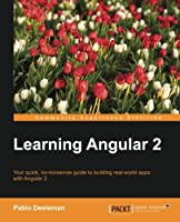 Learning Angular 2 Front Cover
