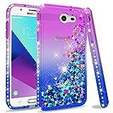 Galaxy J3 Prime Case,J3 Emerge / J3 Eclipse/Express Prime 2 Etui Glitter Phone