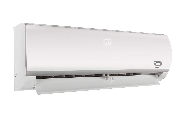 3+3 Diloc Frozen MultiSplit Klimager/ät Inverter Trial Gas R32 Kompressor Sharp D.FROZEN360 D.FROZEN12 3//8 3 Metri Kupferrohre 1//4 D.FROZEN12 12+12