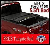 Gator Soft Tri-Fold Tonneau Truck Bed Cover 2015-2019 Ford F150 MADE IN THE USA (5.5 Ft Bed)
