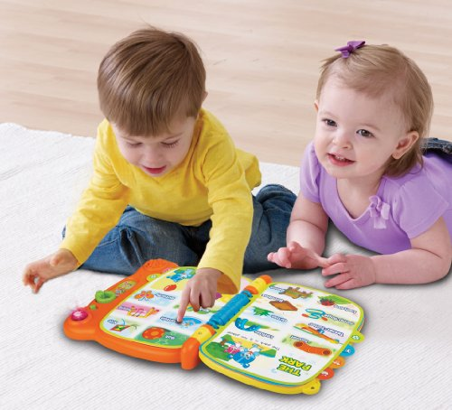 51l cSGAciL - VTech Touch & Teach Word Book (Frustration Free Packaging)