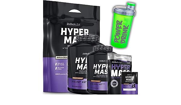 Biotech USA Hyper Mass 6800 g bolsa Chocolate – hidratos de ...