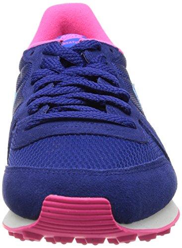 Nike - Zapatillas de deporte Internationalist , Mujer , Azul (Dp Ryl Bl/Hypr Cblt-Hypr Pnk-L) Mehrfarbig (DP RYL BL/HYPR CBLT-HYPR PNK-L)