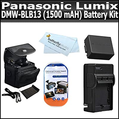 Amazon.com: Kit de Batería para Panasonic Lumix DMC-G10 DMC ...