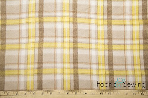 Picnic Table Pattern Anti-Pill Polar Fleece Fabric Polyester 13 Oz ()