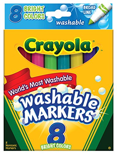 Crayola Count Washable Bright Markers