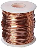 Arcor Soft Copper Wire, 16 Gauge, 126 Feet, 1 Pound Spool - 447629