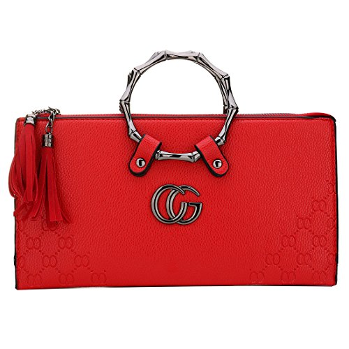 Fashion Mini with Clutch Handbags Strap Bag Evening Bag Women Red for Design Mini Hanging Crossbody SxFqUax