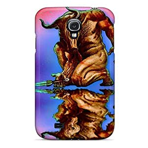 Galaxy S4 Case Cover With Shock Absorbent Protective OIKlMnU650Bghvd Case by icecream design
