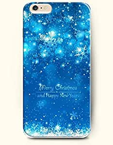 OFFIT iPhone 6 Plus Case 5.5 Inches Dreamy World - Merry Christmas and Happy New Year