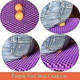 Purple Seat Cushion for Office Chair, Seat Cushion