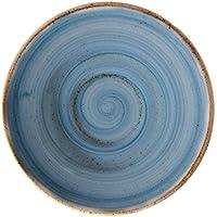 Corona Plato, Porcelana, Azul, 16 cm