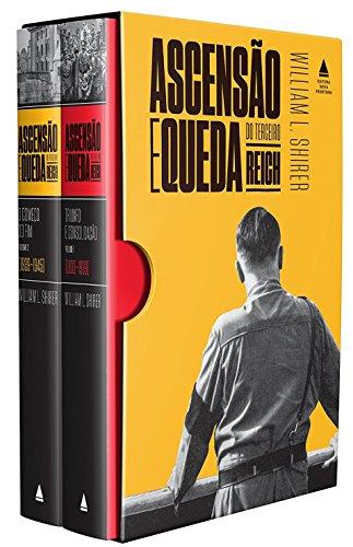 Ascensão e Queda do Terceiro Reich - Caixa com 2 Volumes