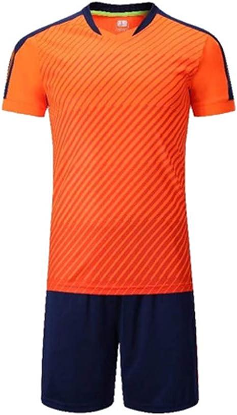 CJF Traje de Entrenamiento de fútbol, Conjunto de Camiseta de fútbol para Adultos para niños, Camiseta de fútbol + pantalón Corto para Hombre,para Ropa Deportiva de Equipo: Amazon.es: Deportes y aire libre