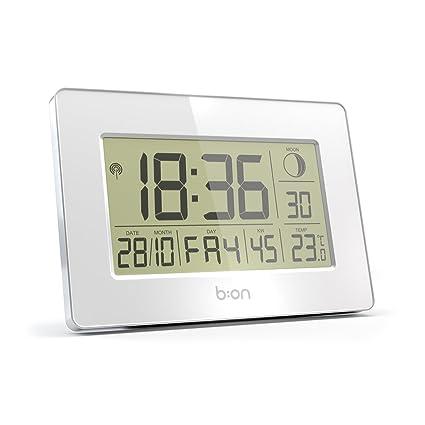 B:ON - Cloud reloj de pared y despertador radiocontrolado