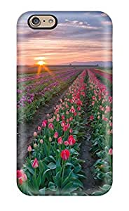 Premium [xcofNuS2648VBqUM]field Of Roses Case For Iphone 6- Eco-friendly Packaging by supermalls