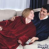 Ontel Huggle Hoodie, Burgundy, One size
