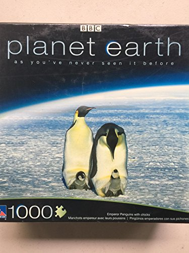 Emperor Penguin Chick (PLANET EARTH - Emperor Penguins with Chicks - 1000 Piece Jigsaw Puzzle)