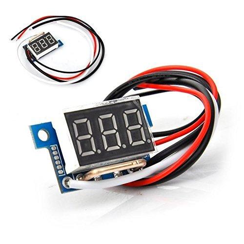 0.36 inch Amp DC Ammeter Red 10A Digital LED Board Amperes Current Panel...