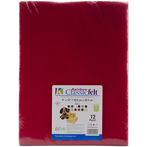 Kunin Classic Rainbow Eco-Fi Felt Assortment 9
