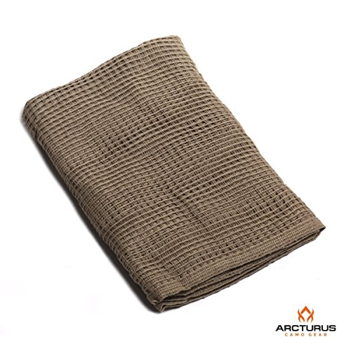 (Arcturus Sniper Veil | Tactical Scarf to Camouflage your Neck, Face & Head | 100% Cotton - 48