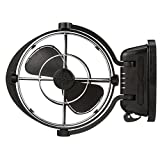 Caframo Sirocco Sirocco II 12/24V Gimbal Fan, One Size, Black
