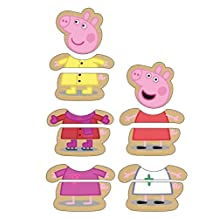 Peppa Pig Mix & Match Dress Up Wooden Puzzle 12 pcs.