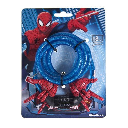WordLock Marvel Spiderman Bike Lock