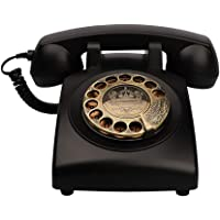 TelPal Antique Phones Corded Landline Telephone Vintage Classic Rotary Dial Home Phone of 1930s Old Fashion Business…