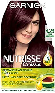 Garnier Nutrisse Creme 4.26 color burdeos oscuro: Amazon.es ...