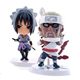 Naruto anime Sasuke Gaara Uchiha Itachi Madara figures set 6 pcs pvc doll