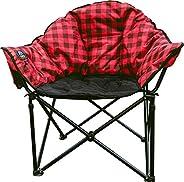 Kuma Outdoor Gear Lazy Bear Heated Chair Red Plaid