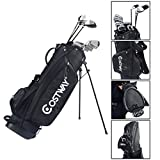 2016 12 Piece Complete Golf Set Men�s Right Handed w/Stand Bag Black