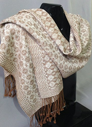 Handwoven Alpaca Shawl/Scarf by Whirlwind Designs