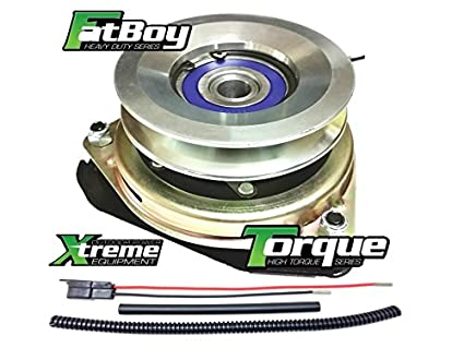 Xtreme Outdoor Power Equipment Bundle - 2 Items: PTO Electric Blade Clutch,  Wire Harness Repair Kit  X0569 Replaces Husqvarna 532414336 PTO Clutch,