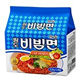 korea Paldo Bibim myun Cold Noodle instant ramen sweet spicy sauce 130g 5 pack