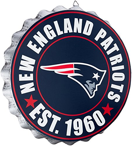 FOCO New England Patriots 2016 Bottle Cap Wall Sign