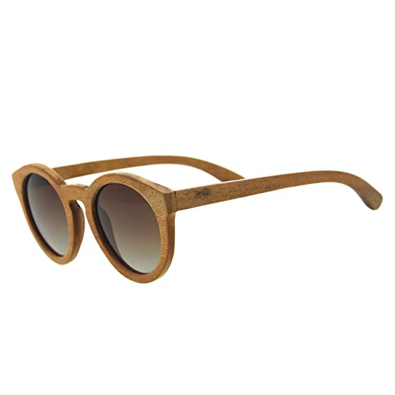 Gafas de sol polarizadas de Bambú gafas de sol oayawl ...