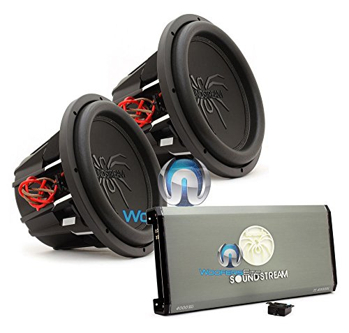 pkg Soundstream T1.4000DL Monoblock 4