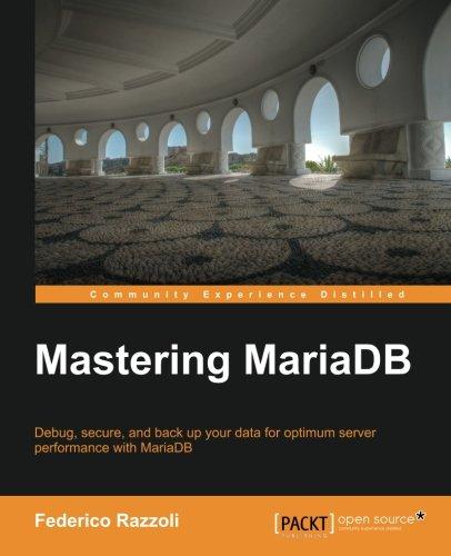 Read Online Mastering MariaDB pdf