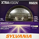 SYLVANIA H6024 XtraVision Halogen Sealed Beam Headlight (7'' Round) PAR56, (Contains 1 Bulb)
